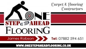 Cardiff flooring - business card