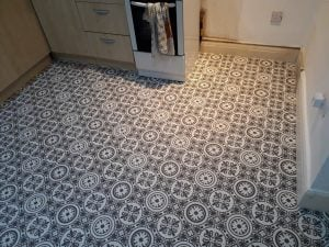 Retro Cheap Flooring Cardiff
