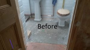 Harvey Maria Bathroom Floor Fitting