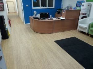 Contract Flooring @ Oasis Dental Care