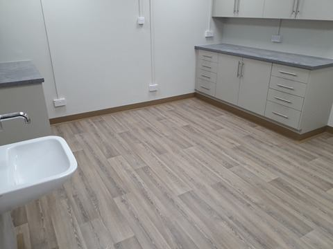 Old Station Surgery Polyflor Polysafe Wood Fx Pur