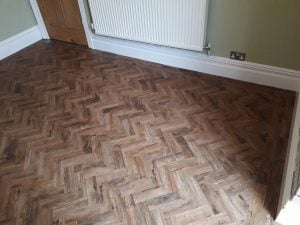 Polyflor living room carpet and flooring contractors Cardiff