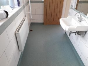 Disabled Flooring Bathroom