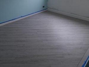 Vinyl bedroom floor fitting shop cardiff