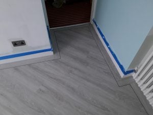 Vinyl bedroom floor fitting shop cardiff