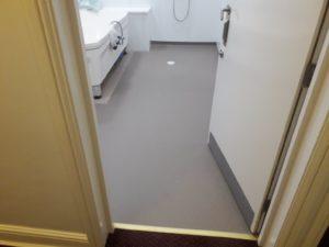 wet room flooring