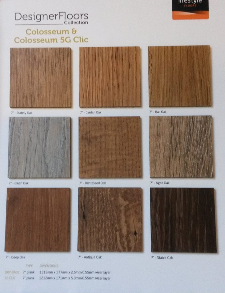 Lifestyle Floors - Colosseum collecion