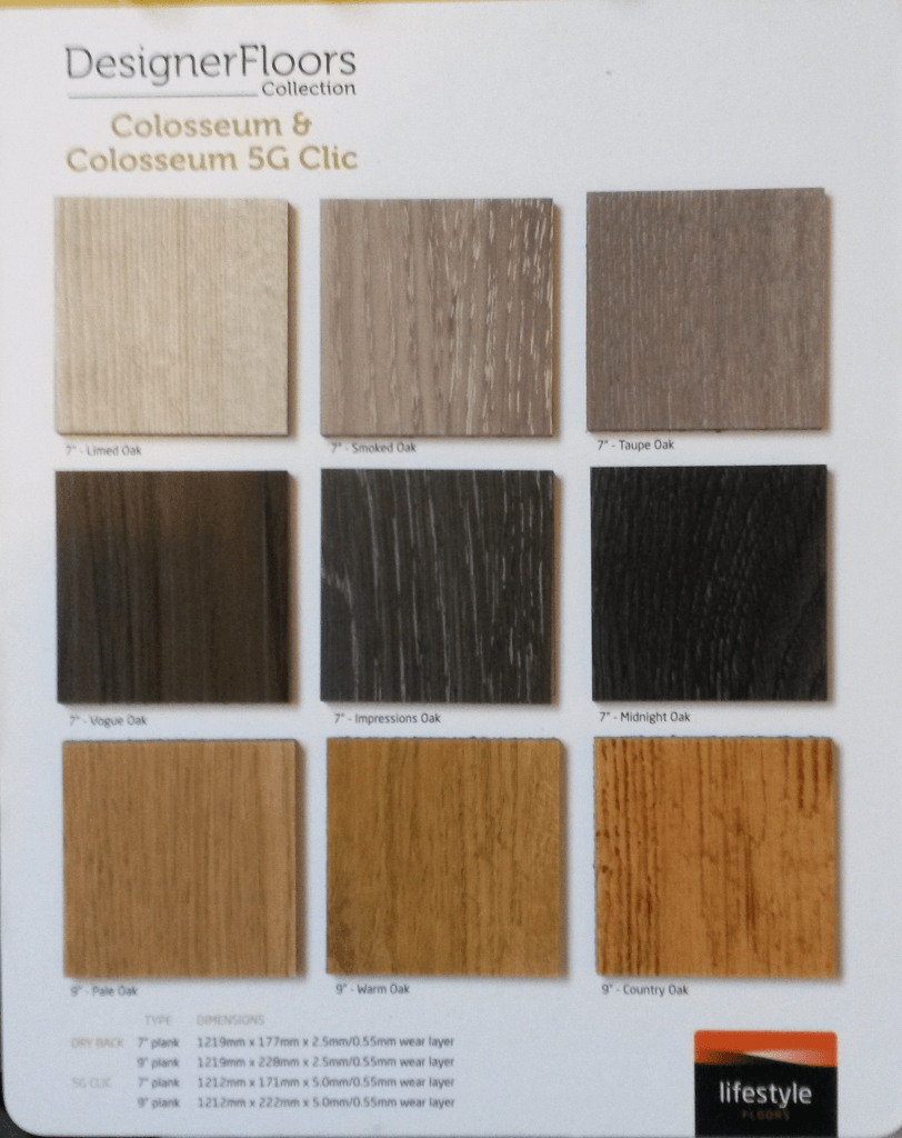 Lifestyle Floors - Colosseum collection